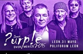 DEEP PURPLE DE GIRA POR MÉXICO