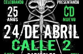 CUCA CELEBRA 25 AÑOS DE CARRERA MUSICAL