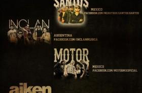 LATINOAMERICANO PACIFICO TOUR: MOTOR, AIKEN, INCLAN, NUESTROS SANTOS
