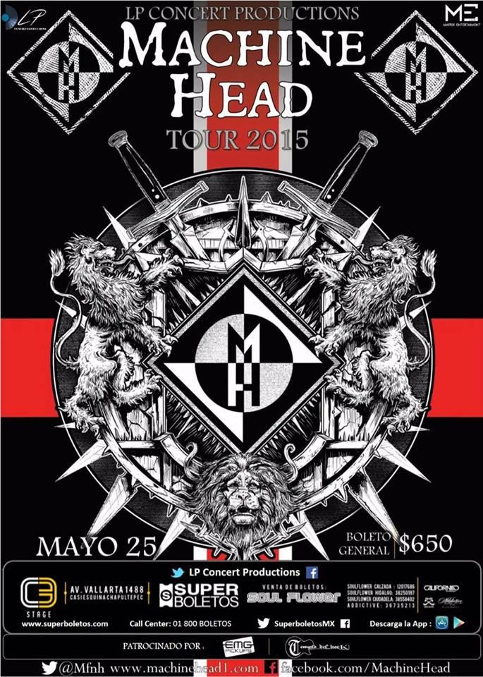 MachineHeadMEX 2015