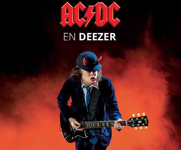 AC DC Deezer