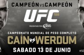 ACTIVIDADES PARA LA SEMANA DE UFC® 188: CAÍN VS WERDUM