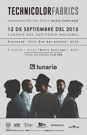 Cartel Technicolor Fabrics Lunario 2015
