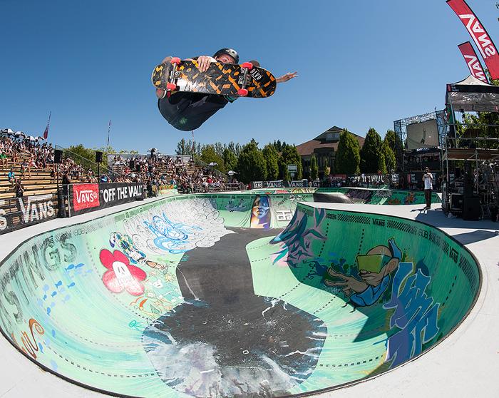 Concrete Skateboarding Vans