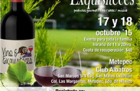LLEGA EL FESTIVAL VINO & EXQUISITECES A METEPEC