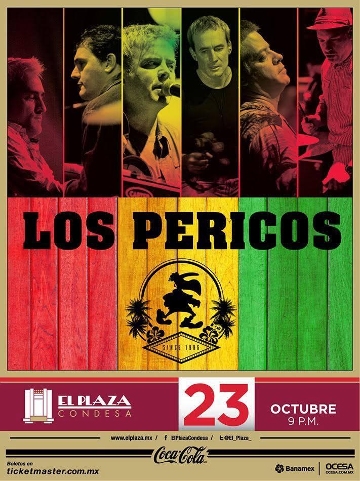 Los Pericos en El Plaza