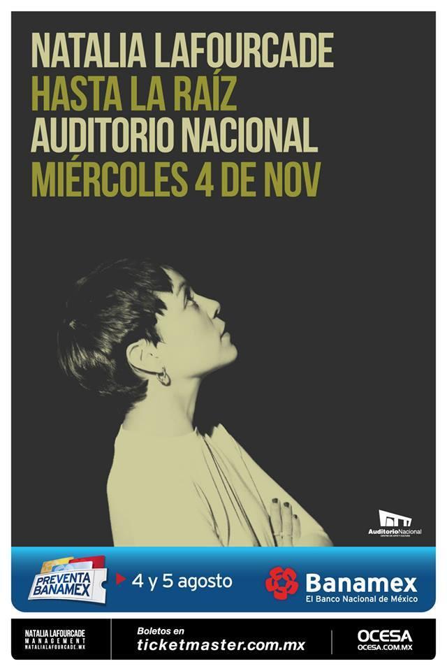 Natalia Lafourcade Auditorio 2015