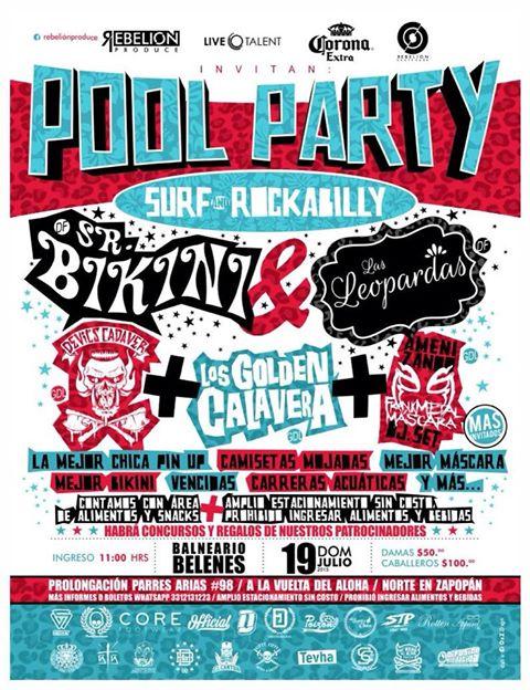 POOL PARTY: SURF & ROCKABILLY