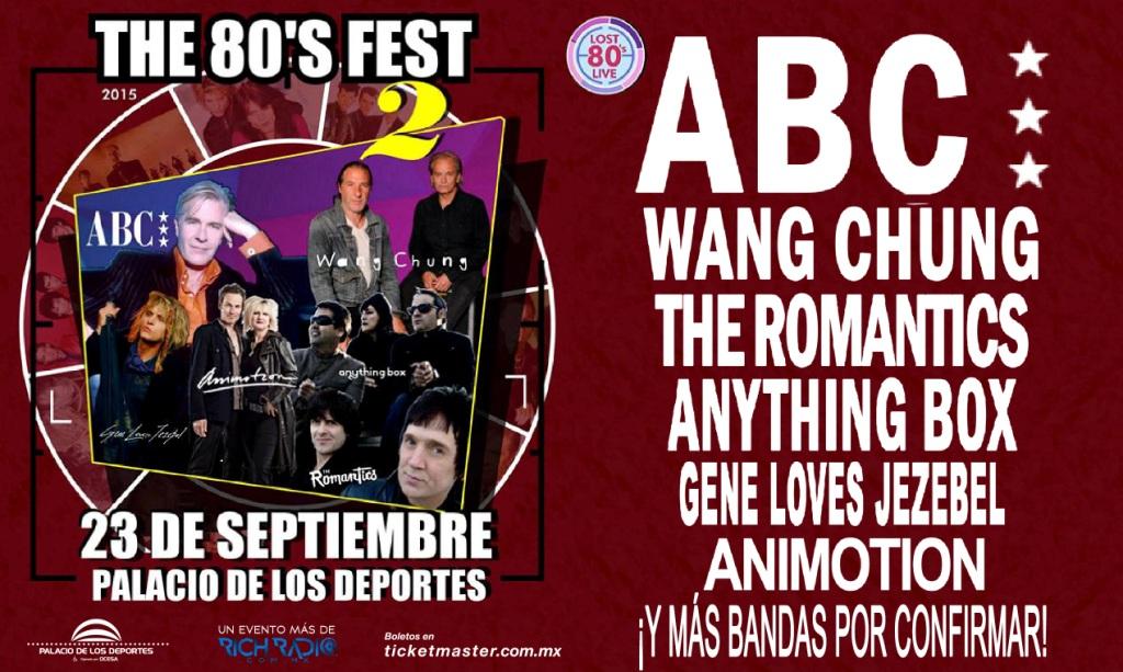 The 80s Fest Flyer 2015