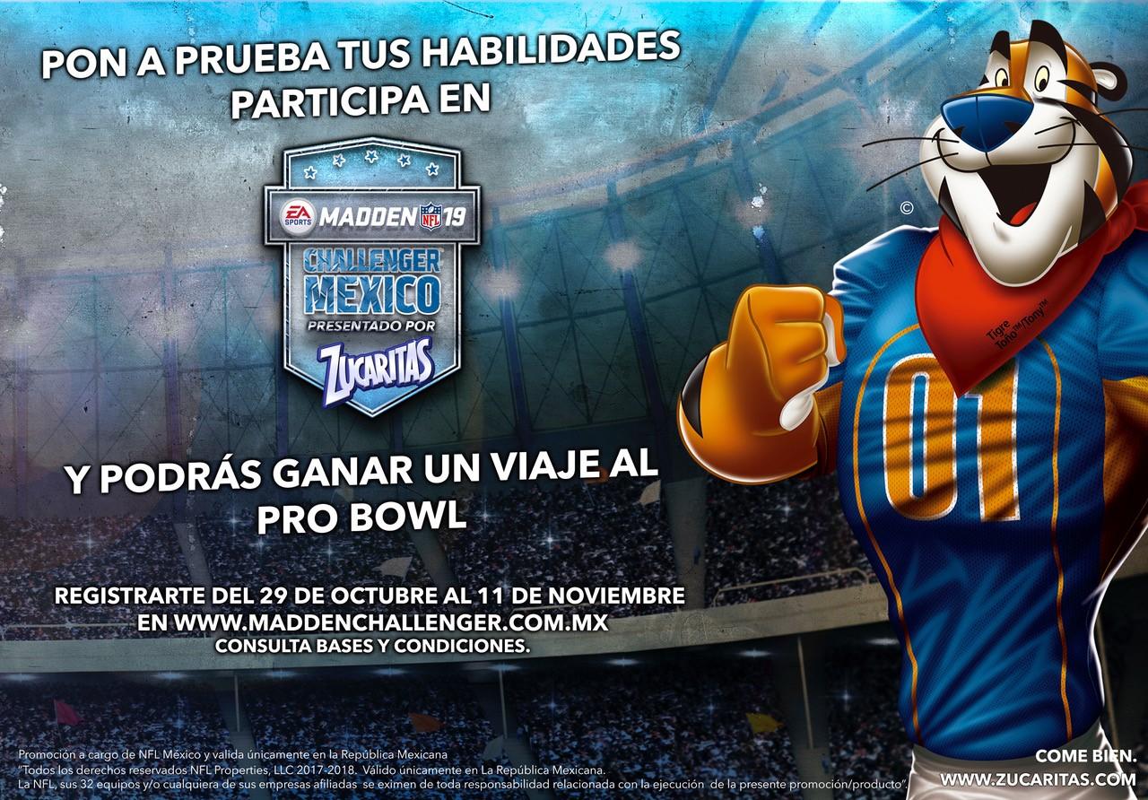 PARTICIPA EN EL TORNEO ONLINE EA SPORTS MADDEN NFL19