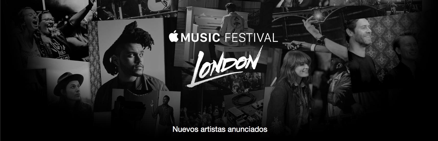 Apple Music Festival promo 2015