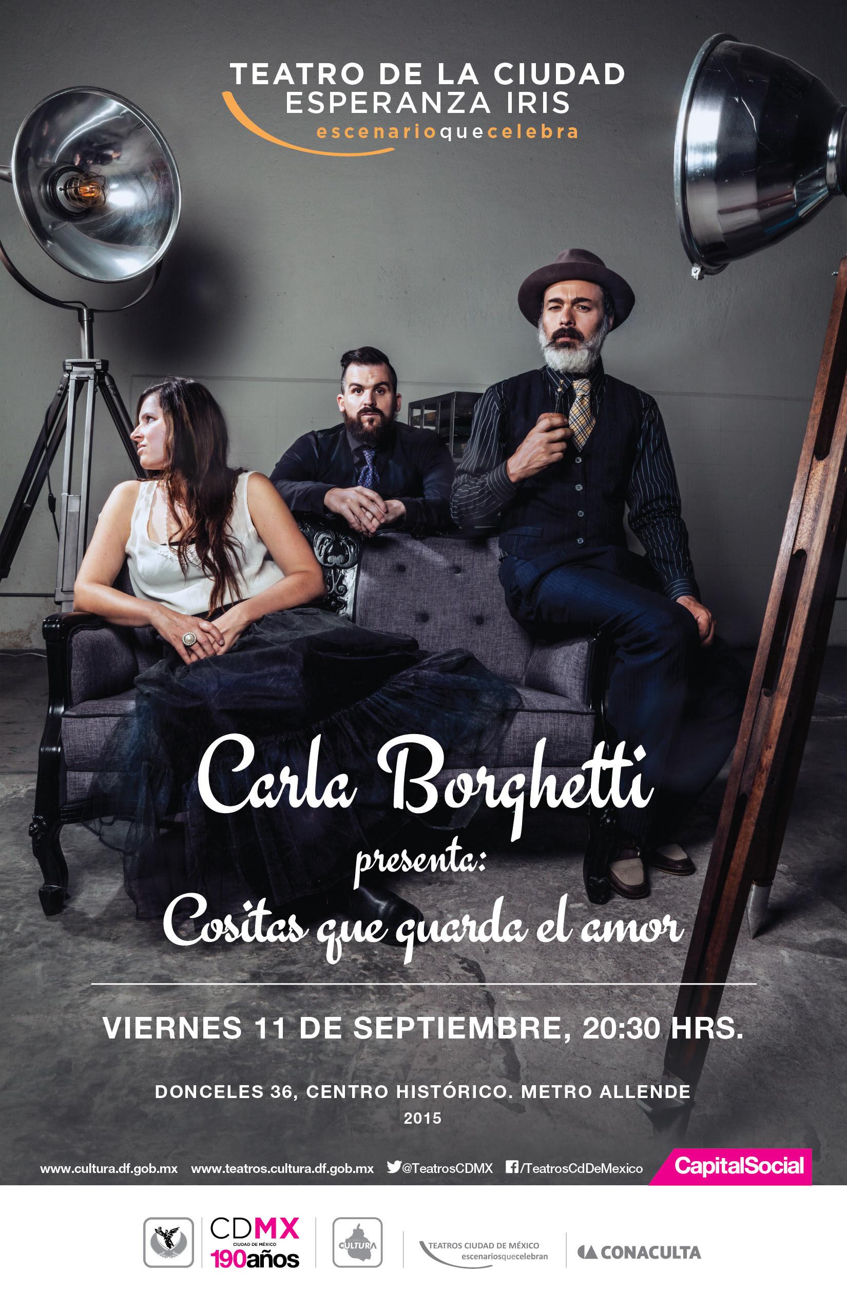 Carla Borghetti Teatro de la Ciudad 2015