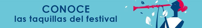 Conoce las taquillas Festival Morelia 2015