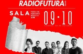 DISCO RUIDO PRESENTA RADIO FUTURA EN SALA
