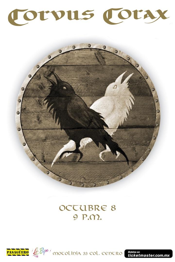 Flyer Corvus Corax Pasagüero 2015