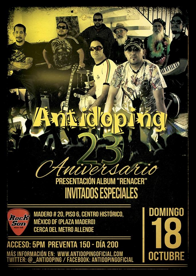 Flyer antidoping Rock Son 2015