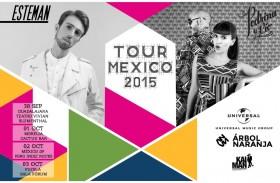 ESTEMAN + PEDRINA Y RIO DE TOUR POR MÉXICO