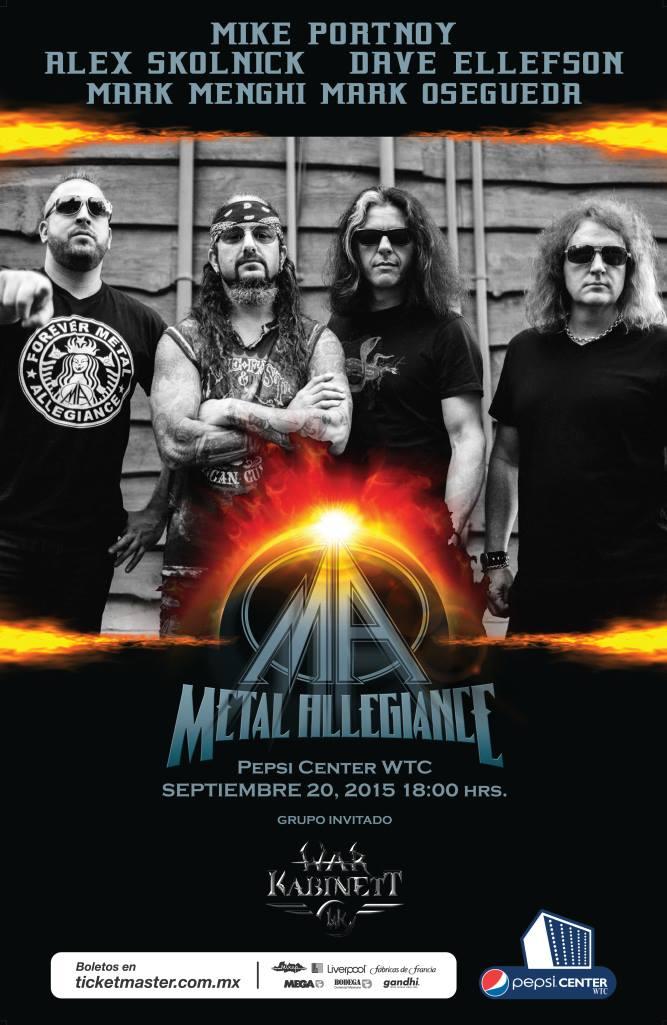 Metal Allegiance 2015