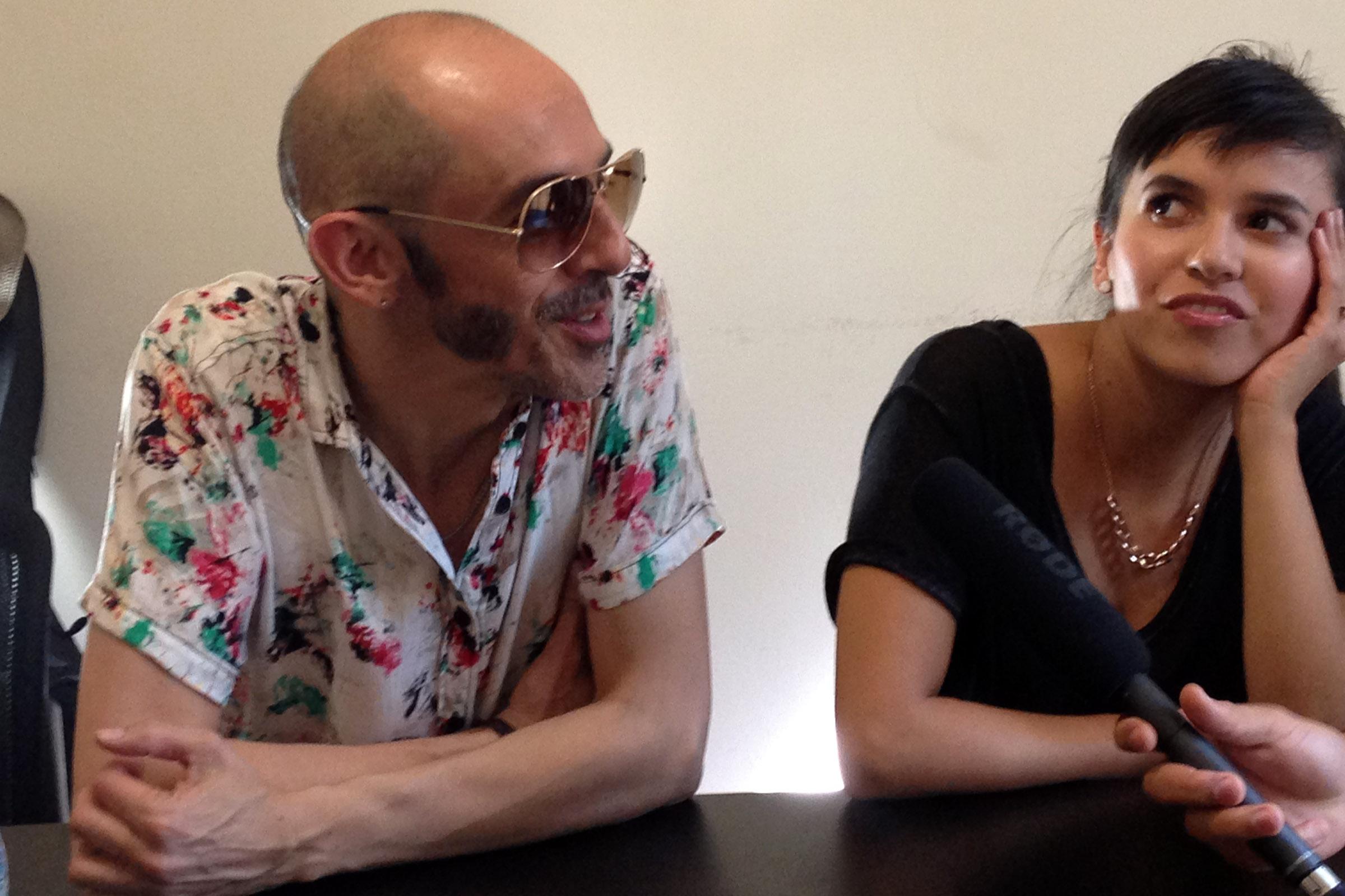 Pedrina y Rio Entrevista 2