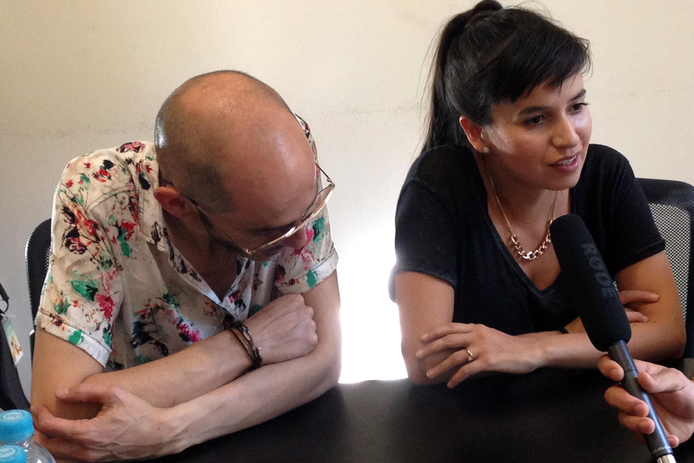 Pedrina y Rio Entrevista 3