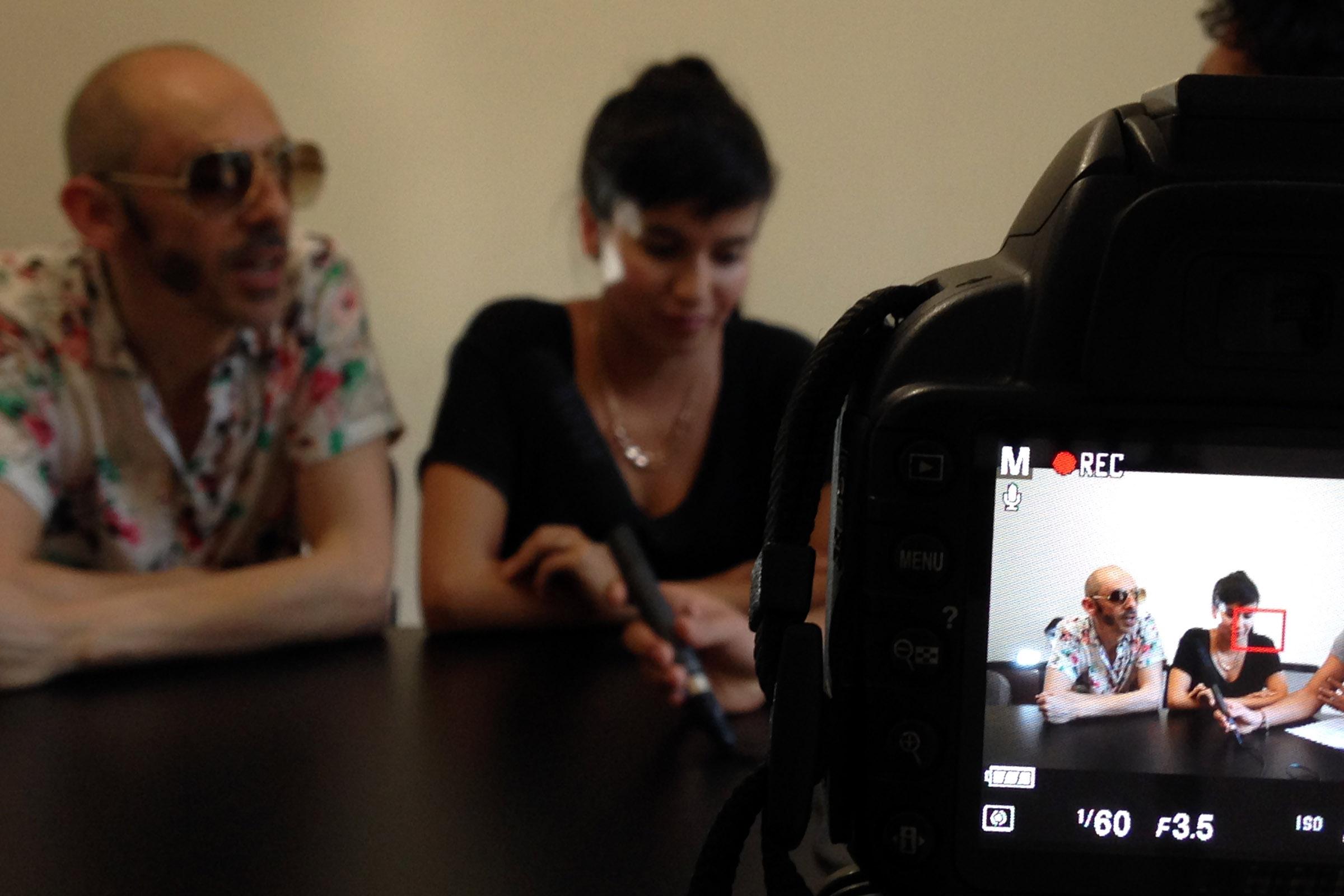 Pedrina y Rio Entrevista 4