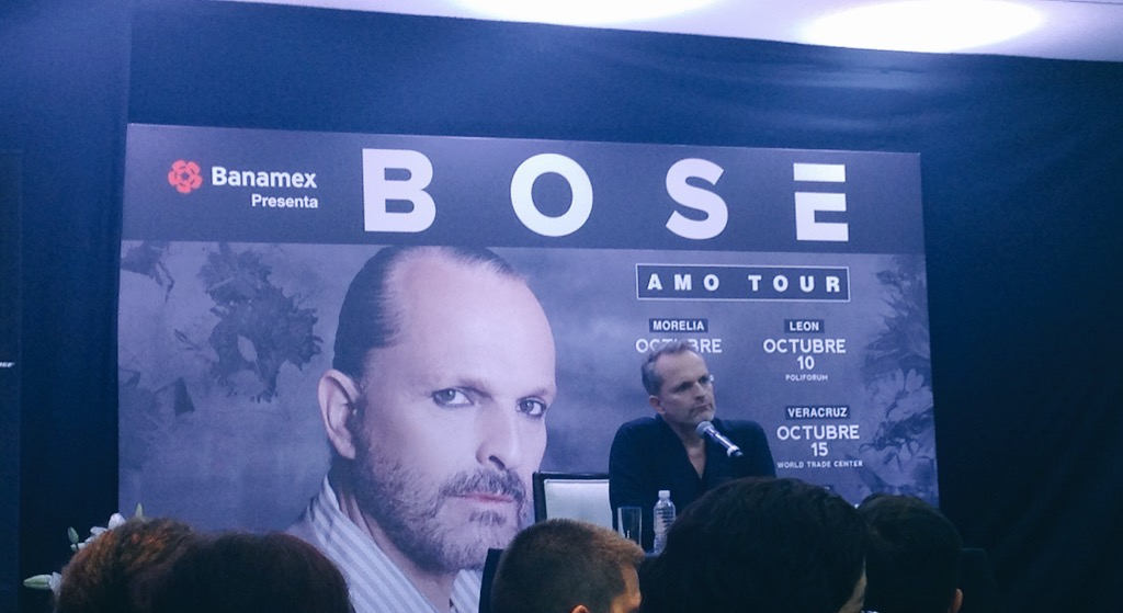 Bose Fin Amo Tour 2015