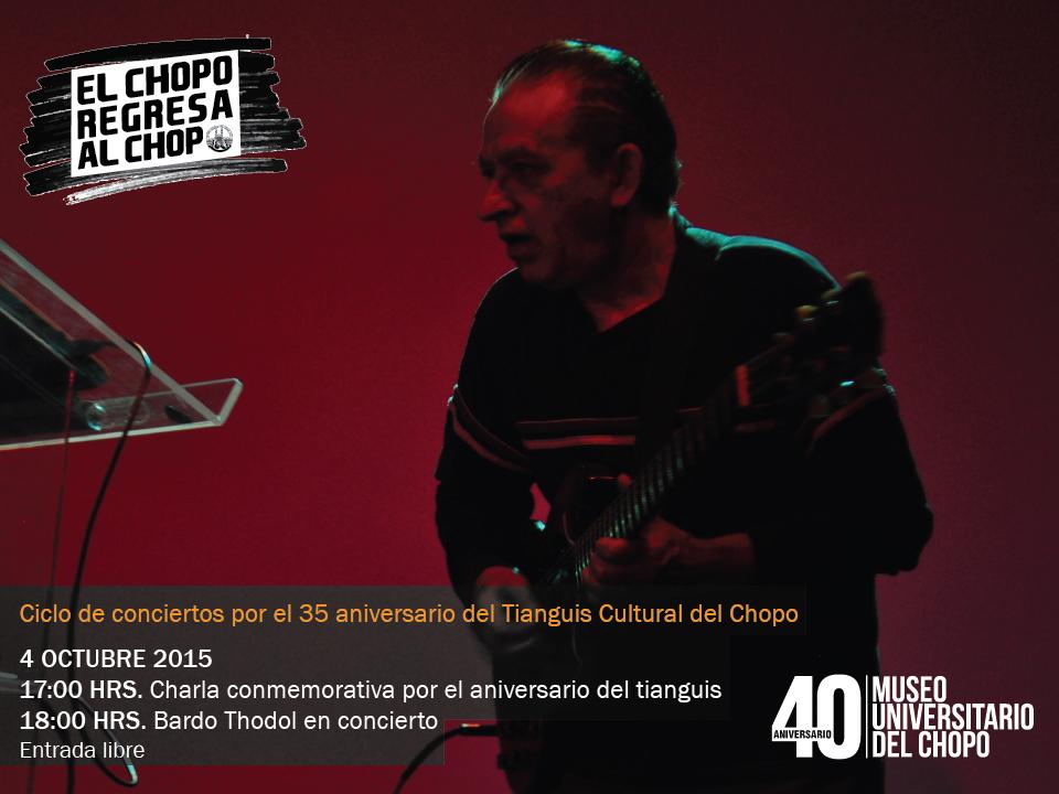 Chopo 35 aniversario