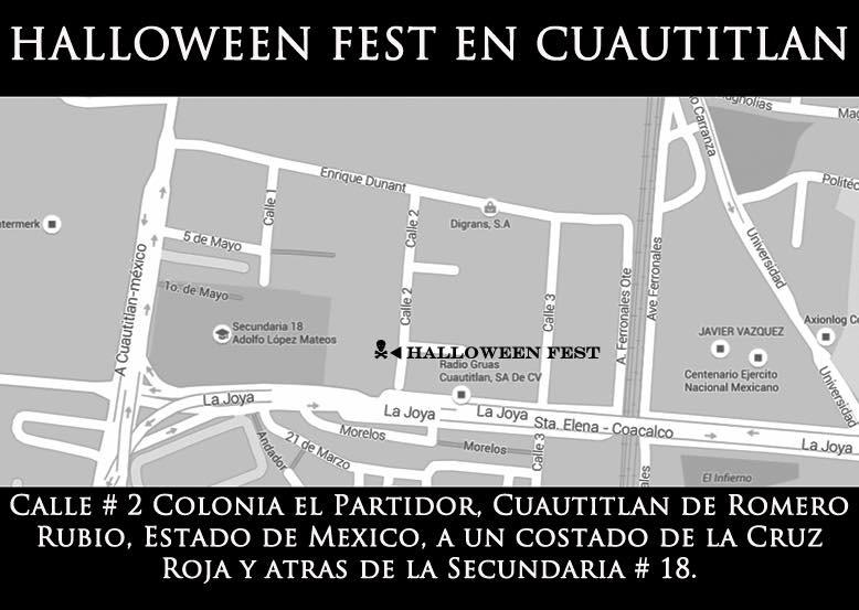 HALLOWEEN FEST MAPA 2015
