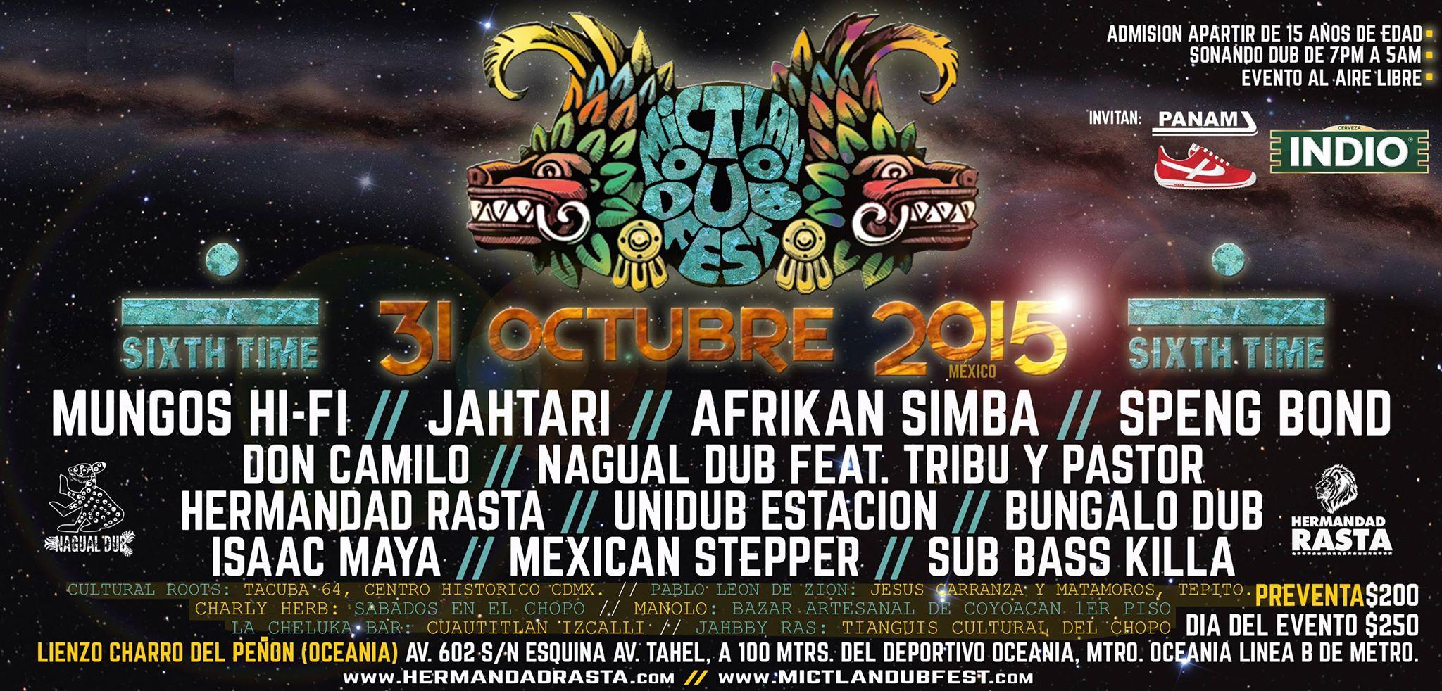 Mictlan Dub Fest 2015