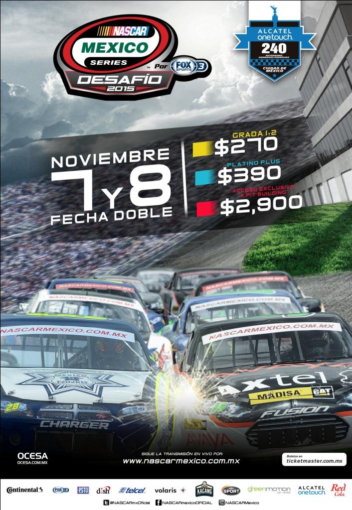 NASCAR NOV 2015 POSTER