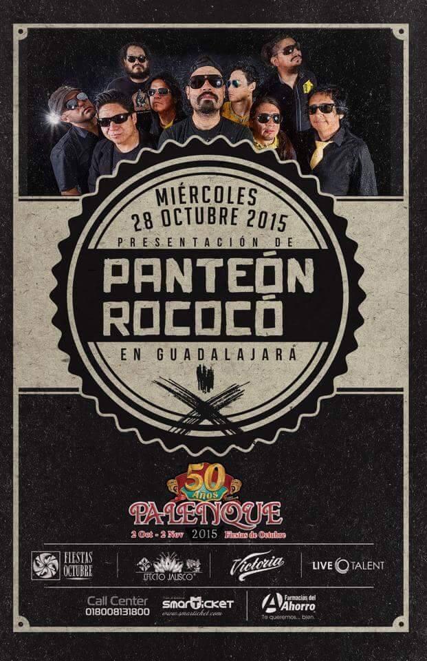 Panteon Rococo GDL Palenque Octubre 2015