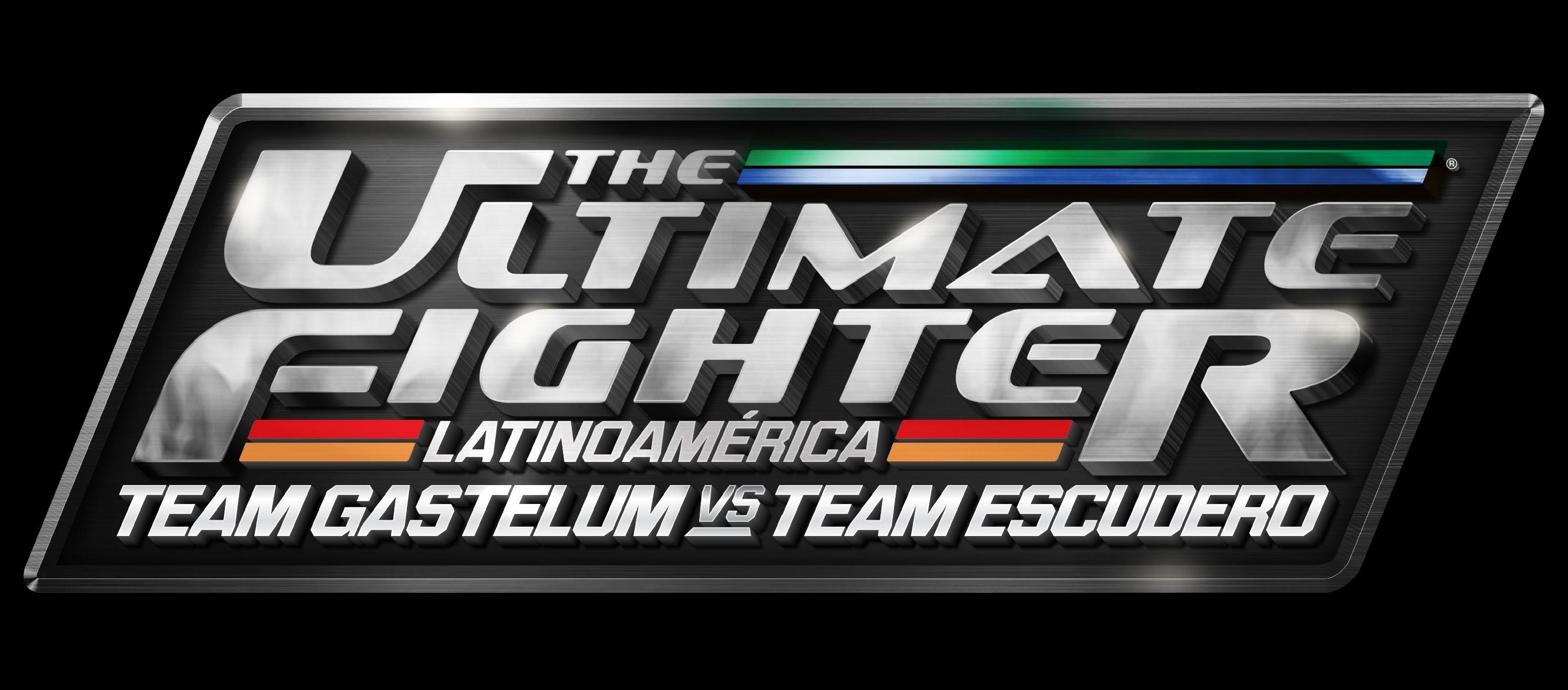 The Ultimate Fighter LATAM Escudero Gastelum Logo