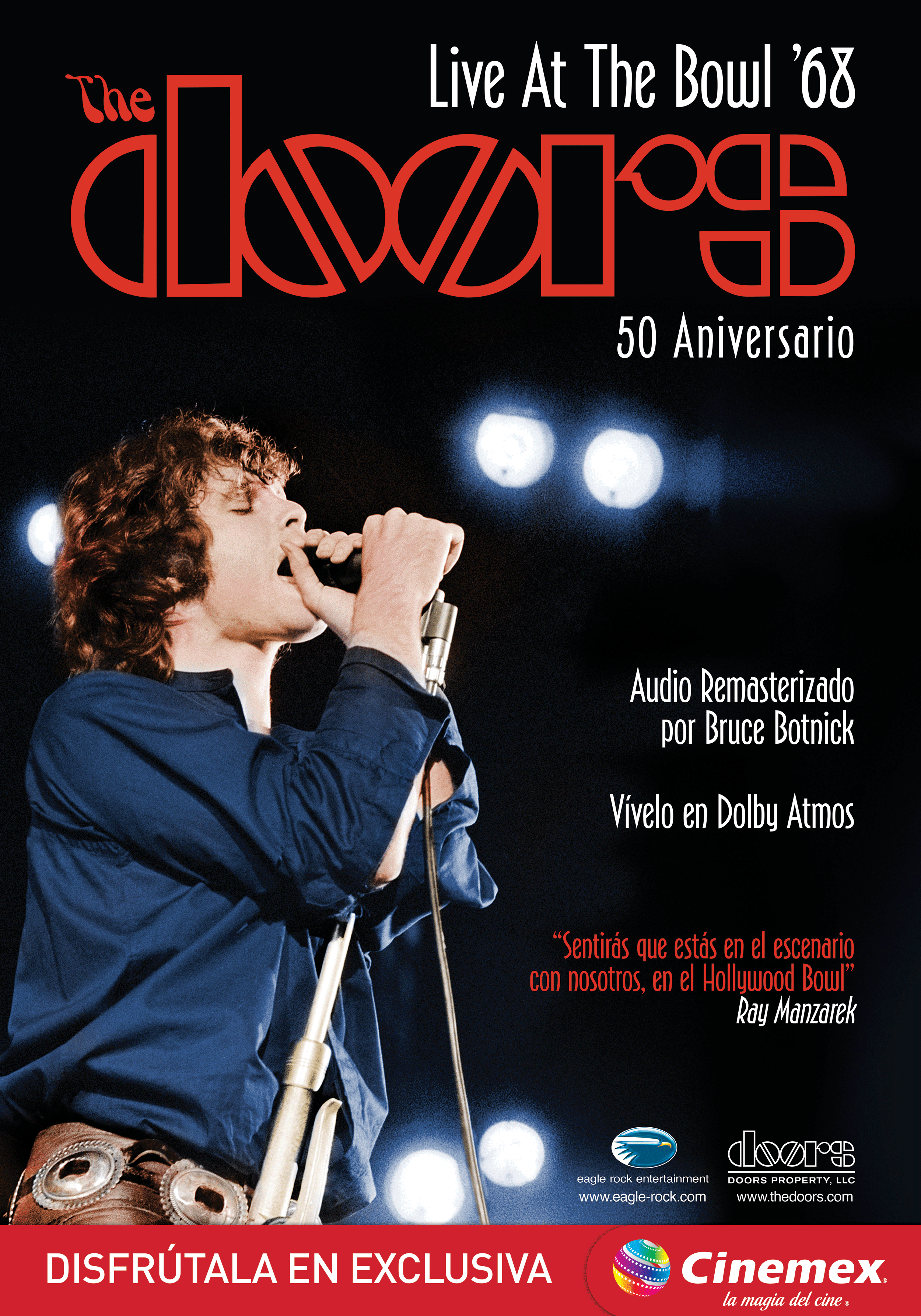 CINEMEX PRESENTA: THE DOORS LIVE AT THE BOWL '68