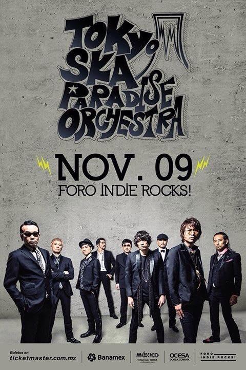 Tokyo Ska Paradise Orchestra Indie Rocks