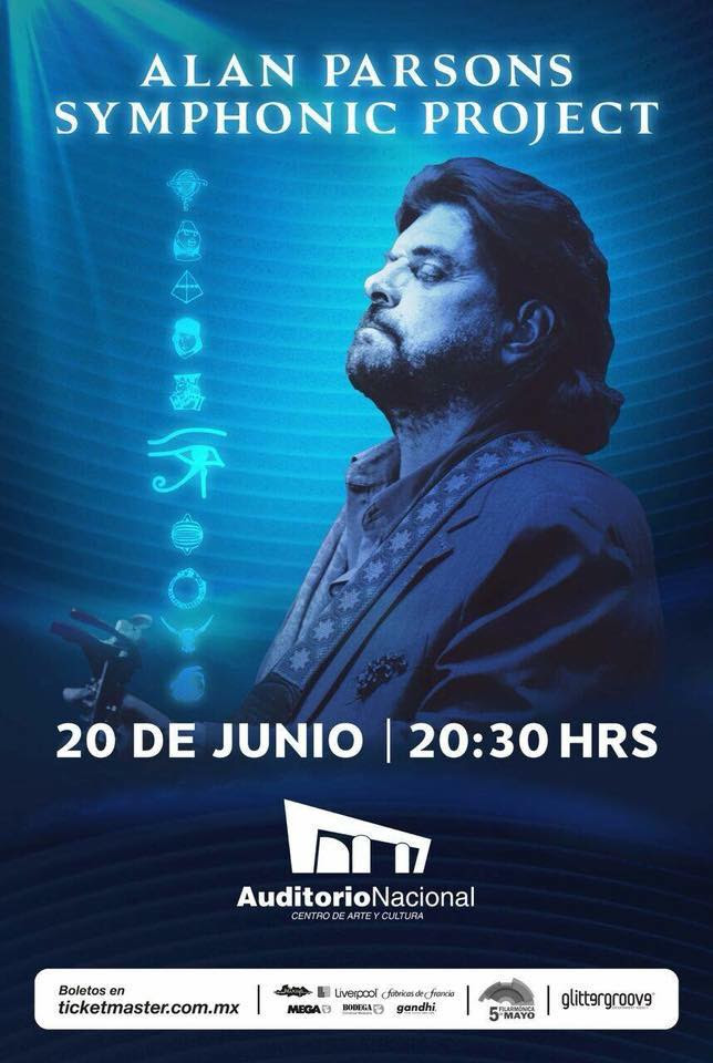 THE ALAN PARSONS SYMPHONIC PROJECT EN EL AUDITORIO NACIONAL