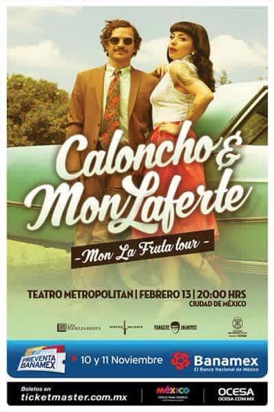 Caloncho Mon Laferte 2016