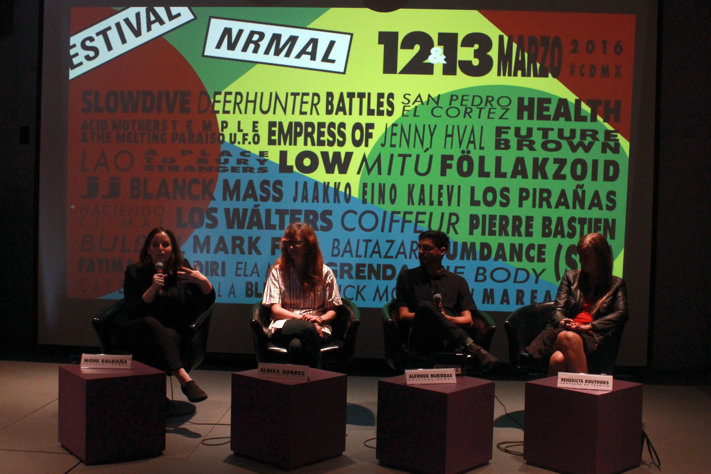 Confe Line up Festival Nrmal 2016