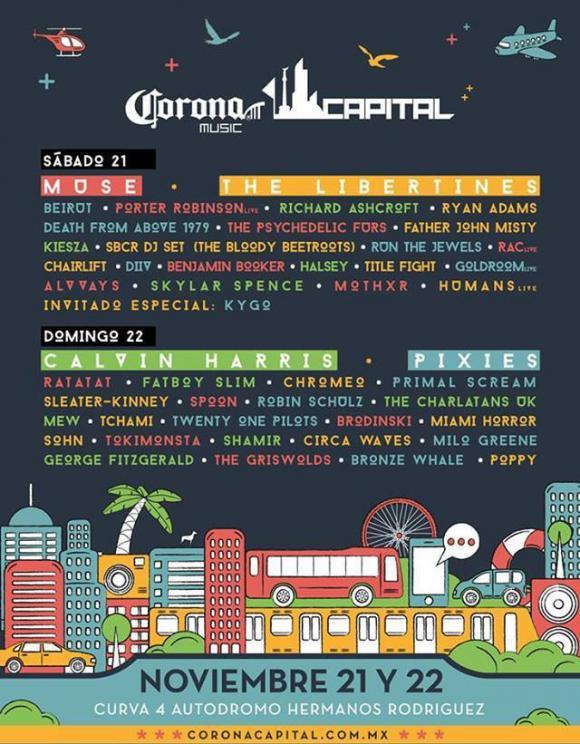 Corona Capital 2015 Cartel