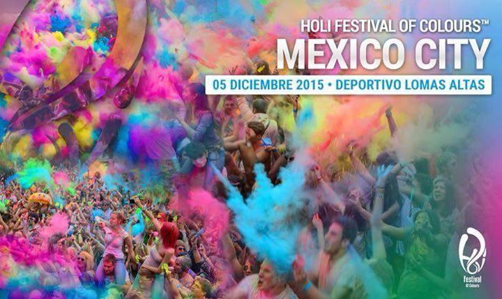 Holi Festival Colours Lomas Altas 2015