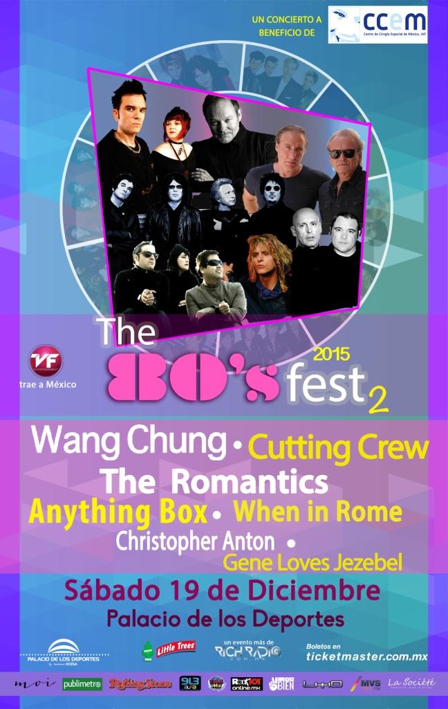 The 80's Fest 2 DIC 2015
