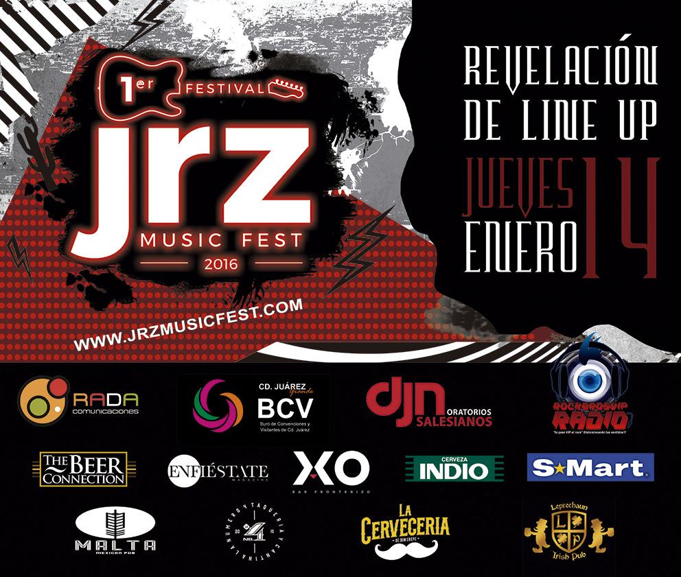 JRZ Music Fest 2016 Cartel