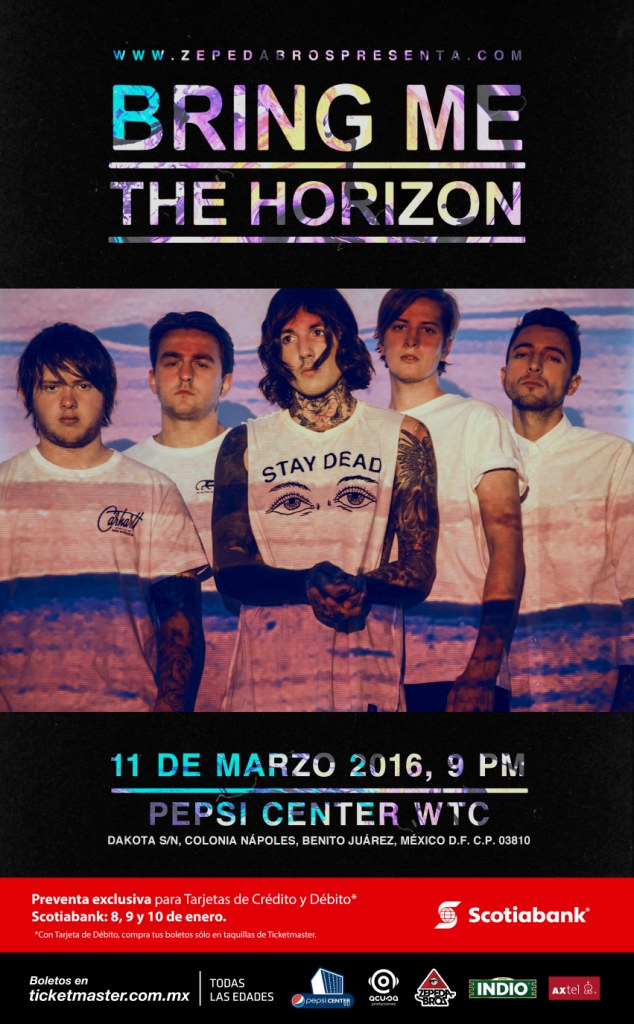 BRING ME THE HORIZON Mexico 2016