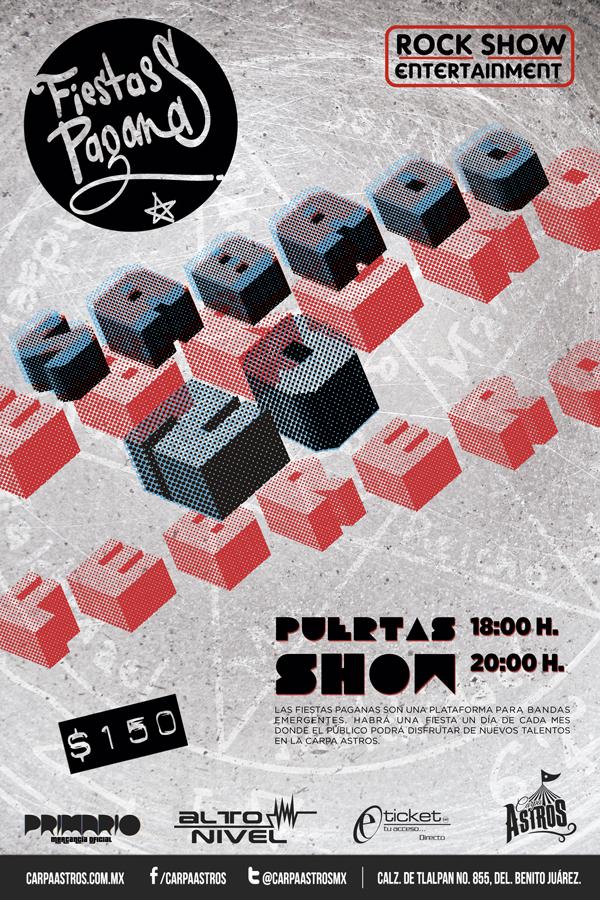 FIESTAS PAGANAS poster 20 feb