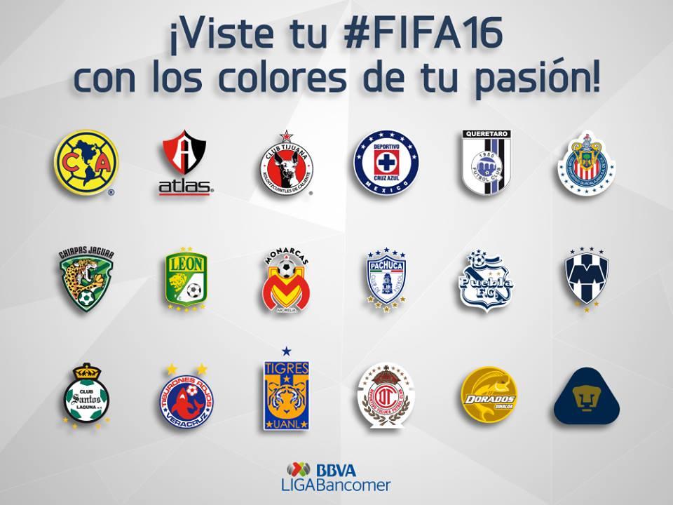 FIFA16 Liga MX