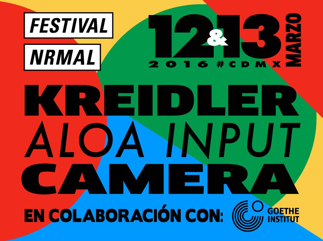 Festival Nrmal Nuevas bandas