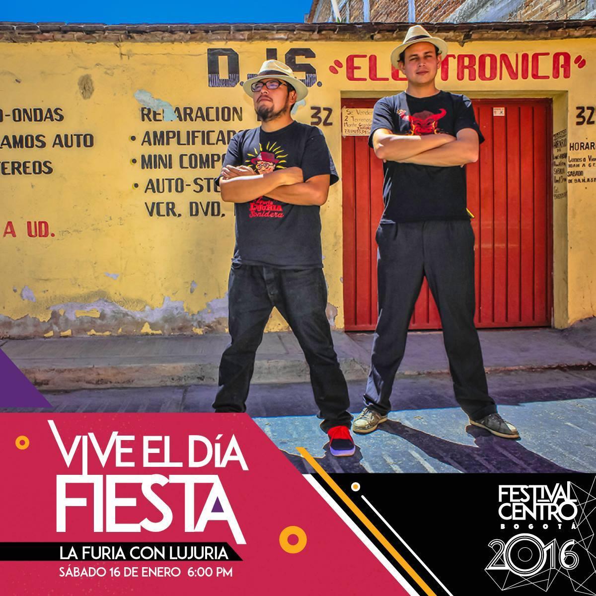 La Furia con Lujuria Sonidera Festival Colombia 2016