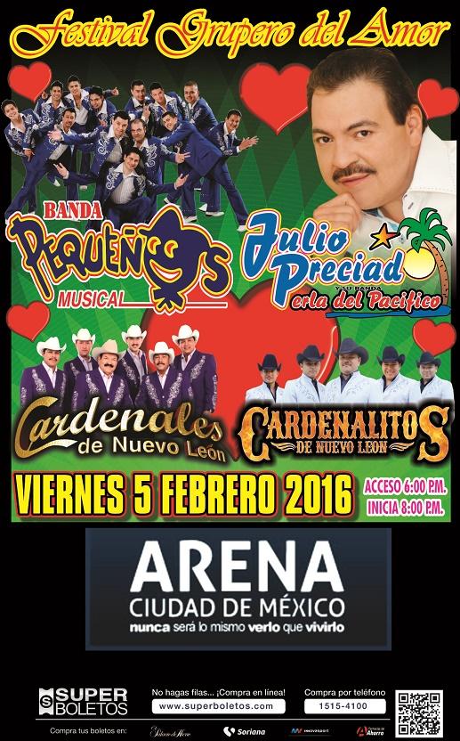 Pequeños Julio 2016 Arena CDMX