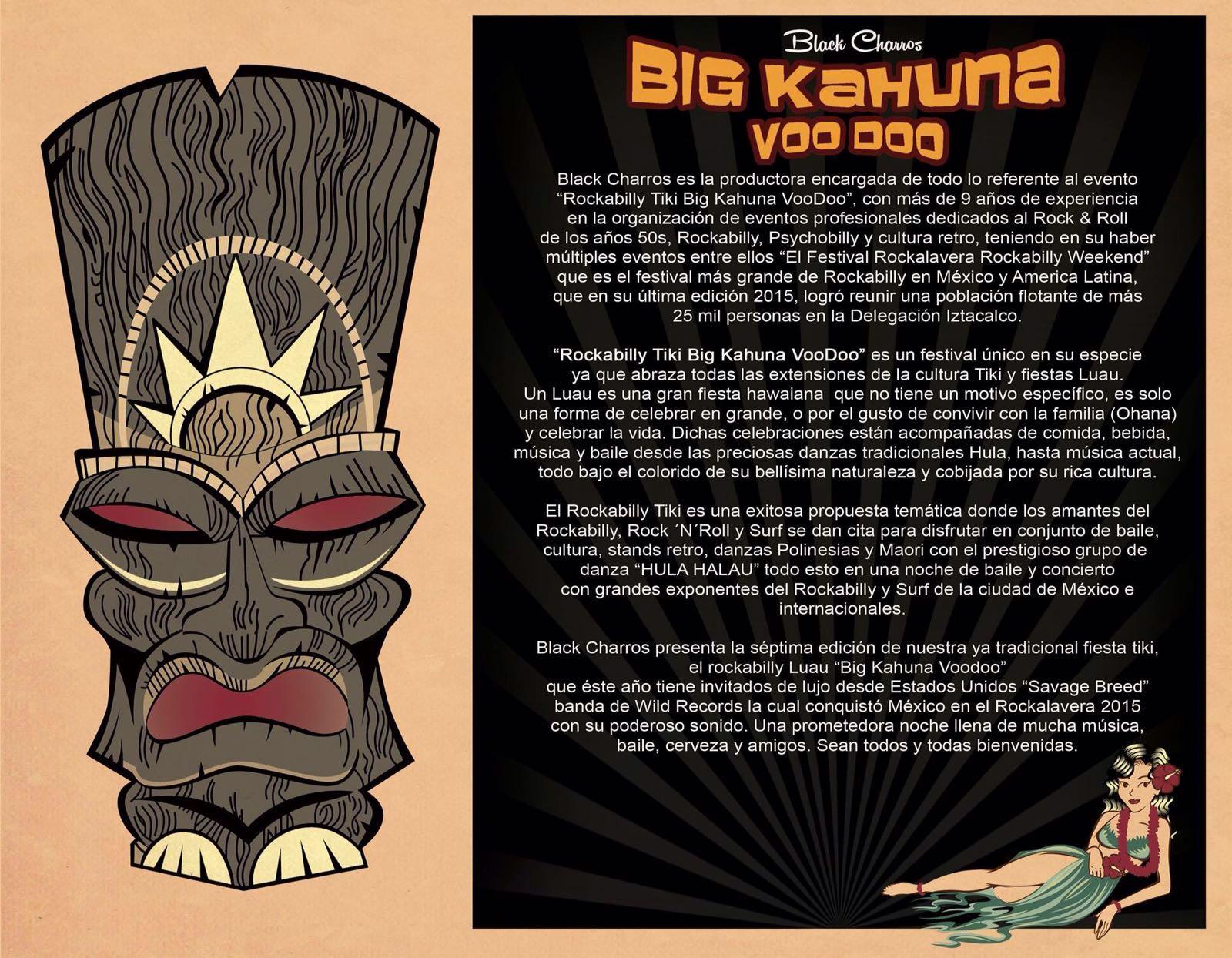 Big Kahuna voo doo