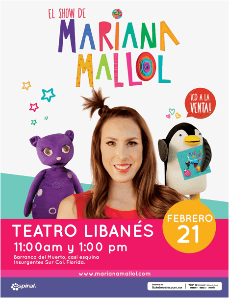 Mariana Mallol Teatro Libanes 2016