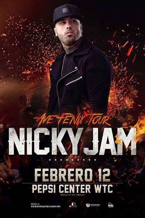 Nicky Jam Pepsi WTC Feb 2016